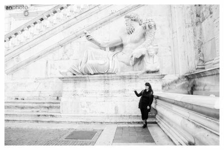 Roman holiday photography - Campidoglio